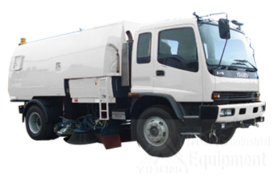 Yihong road sweeper yhj5164 road sweeper vehicle