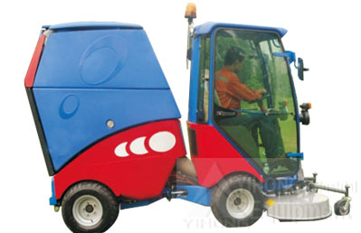 yihong road sweeper yhj5165 parking lot sweepers