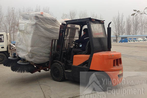2 Sets of YHD21 Road Sweepers Exported to Lagos,Nigeria
