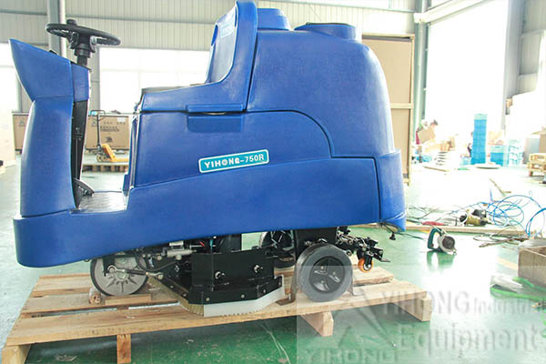 One Ride-on Floor Scrubber Exported to Australia