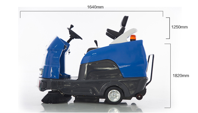 yihong battery sweeper yh b1550 parking lot sweepers View yhroadsweepercom,yihong industrial equipment co, ltd professional manufacturer of street sweepers,floor scrubbers,road sweepers,tractor sweepers,battery sweepers etc.