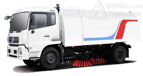 Yihong road sweeper yhqs5050a street sweeping