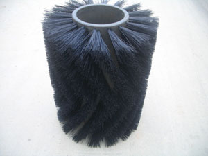 Tube broom