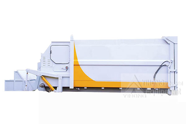 MOBILE GARBAGE COMPRESSOR